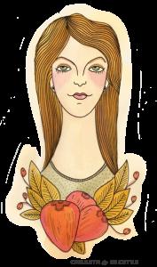 Maldeadora, Nicole Chapaval - Carreta de recetas